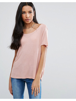 Brave Soul Scoop Neck T-Shirt