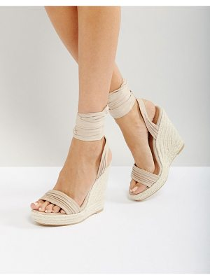CALL IT SPRING Call It Spring Cadoilla Espadrille Ankle Tie Sandals