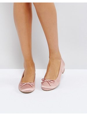 Call It Spring desarro satin ballerina shoes
