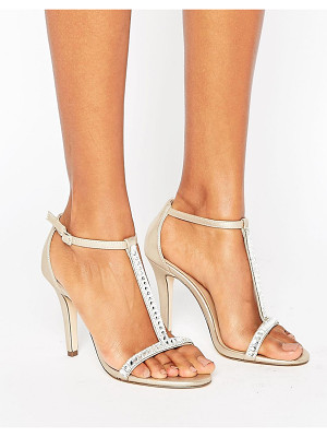 CALL IT SPRING Call It Spring Jerirwen Embellished T Bar Heeled Sandals