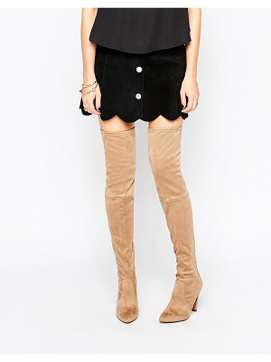 Carvela Wren Heeled Over The Knee Boots
