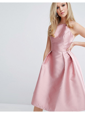 Chi Chi London Structured Satin Prom Dress