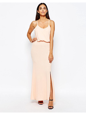 Club L Maxi Dress With Cross Back