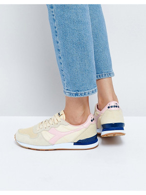 DIADORA Camaro Sneakers In Cream & Pink