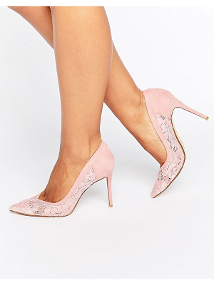 DUNE BRIDAL Buffie Lace Pointed Pumps