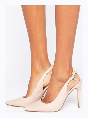 DUNE Chelsea Pointed Open Pumps