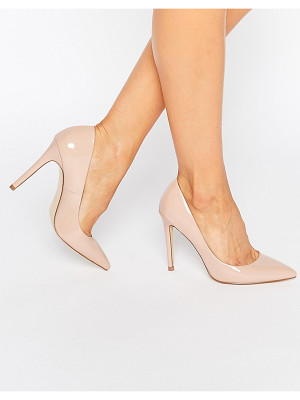 FAITH Chloe Patent Nude Pumps