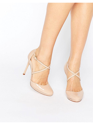 FAITH Clara Nude Strappy Heeled Shoes