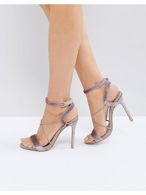 FAITH Dana Strap Heeled Sandals