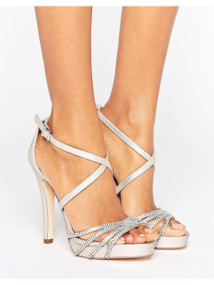 FAITH Leslie Embellished Strap Heeled Sandals