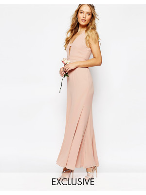 Fame and Partners Everland Maxi Dress with Fishtail