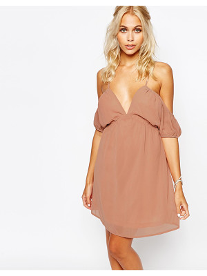 Fashion Union Cami Dress with Cold Shoulder