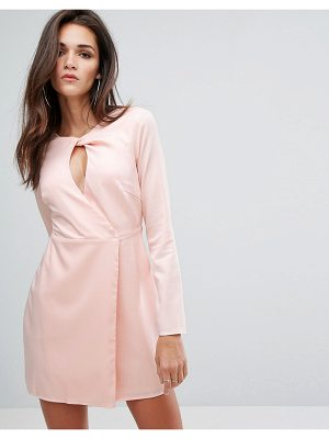 Fashion Union Shift Dress With Key Hole Front