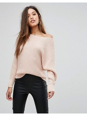 FOREVER NEW Slouchy Off Shoulder Sweater