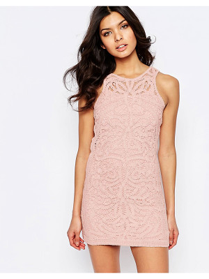 Foxiedox Monticello Lace Mini Dress