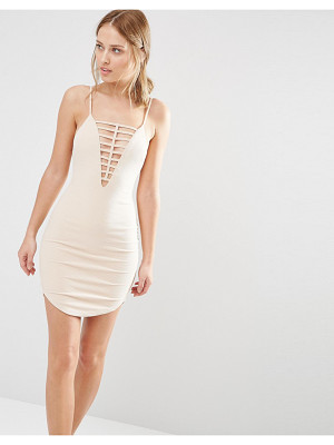 Ginger Fizz Ladder Front Mini Dress