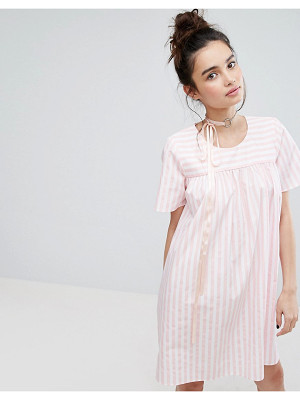 H BY HENRY HOLLAND H! By Henry Holland Smock Dress In Candy Stripe