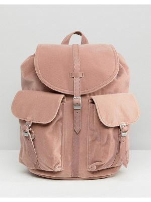 Herschel Supply Co. herschel dawson pink velvet backpack