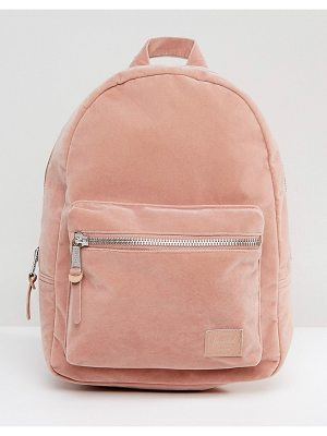 HERSCHEL SUPPLY CO. Herschel Grove Pink Velvet Backpack