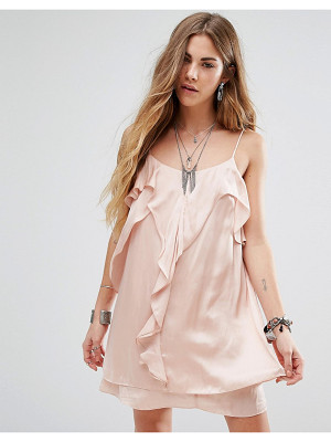 HONEY PUNCH Cami Dress With Frill Front