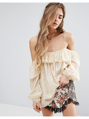 Honey Punch Cami Top With Frill Detail