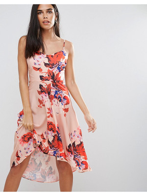 Hope and Ivy Hope & Ivy Floral Hi Lo Dress