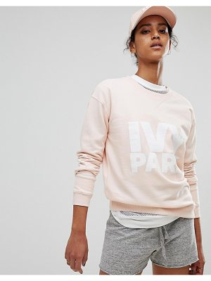 IVY PARK Peached Sweatshirt In Pink
