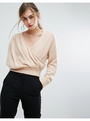 IVYREVEL Cross Front Off Shoulder Sweater