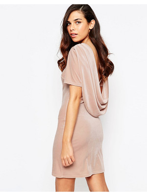 Lashes Of London Lashes Of London Ellie Velvet Cowl Back Dress