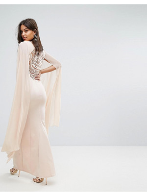 LIPSY Cape Detail Maxi Dress