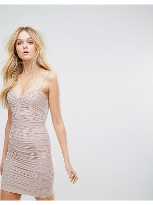 LIPSY Foil Ruched Cami Mini Dress