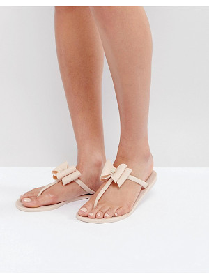 LIPSY Jelly Sandals With Bow Detail