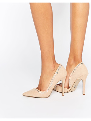 Lipsy Lacey Rivet Heeled Pumps