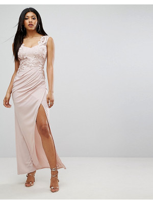 Lipsy Maxi Dress With Sequin Bodice