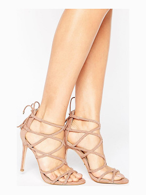 LIPSY Plaited Strappy Heeled Sandal