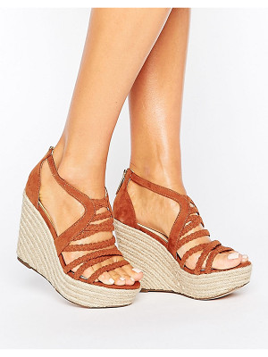 LIPSY Strappy Braid Wedge Sandal