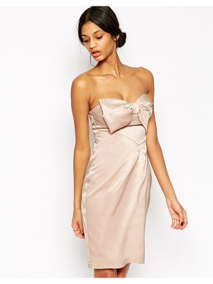 LIPSY VIP Bandeau Pencil Dress With Bow
