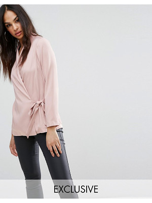 LIPSY Wrap Satin Blouse