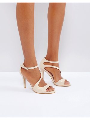 LITTLE MISTRESS Cross Strap Heeled Sandal