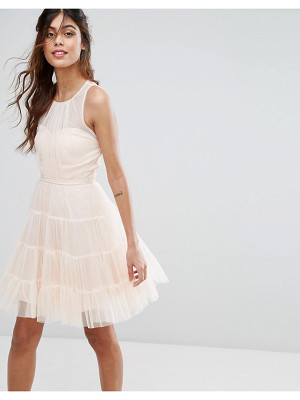 Little Mistress tulle mini dress