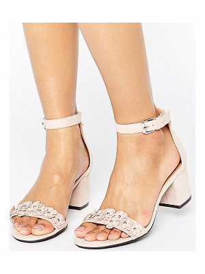 London Rebel 2part Detail Heeled Sandal