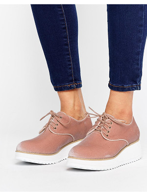 London Rebel Flatform Lace Up Shoe