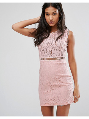 LOVE & OTHER THINGS Lace Pencil Dress