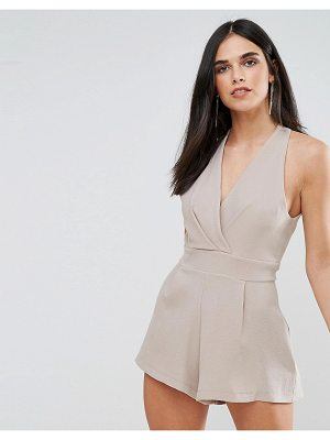 LOVE Tailored Halterneck Romper