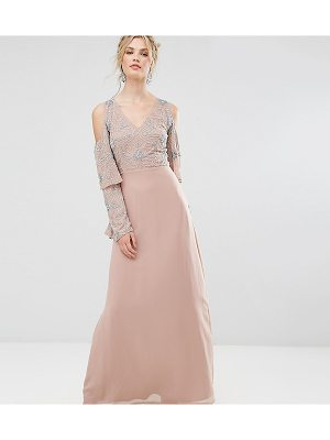 MAYA TALL All Over Embellished Top Maxi Dress
