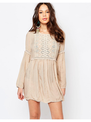MELISSA ODABASH Embroidered Beach Dress