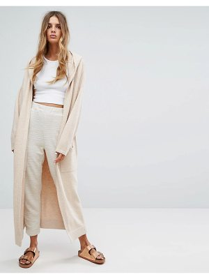 MICHA LOUNGE Hooded Cardigan