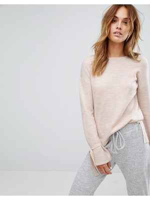 MICHA LOUNGE Tie Sleeve Sweater