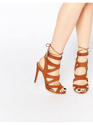 MISS KG Tan Frenchy Heeled Sandals