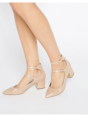 Miss Selfridge Double Strap Pointed Heeled Shoes